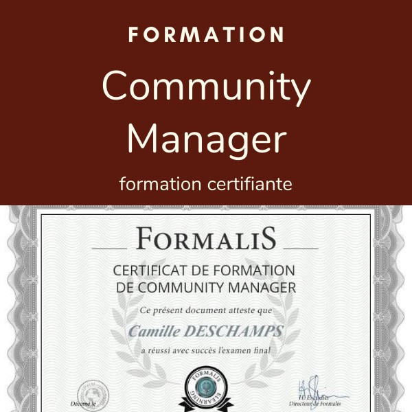 formation certifiante community manager